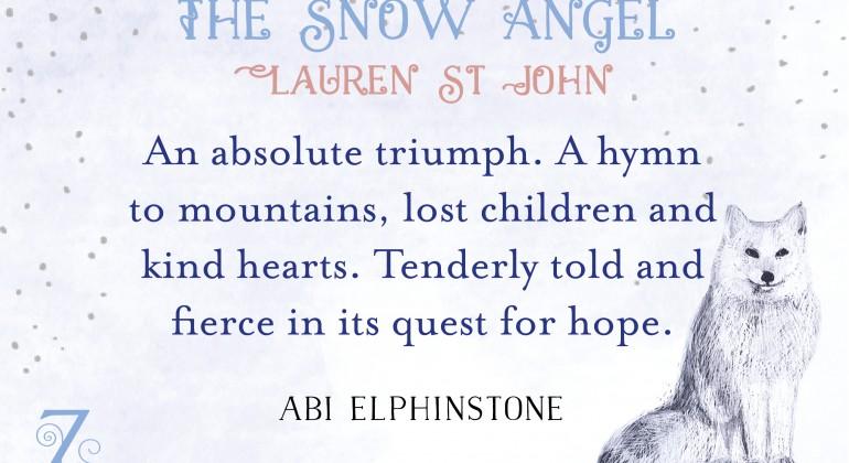 Snow Angel banner Abi full